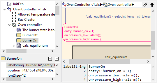 Simulink multiline property view
